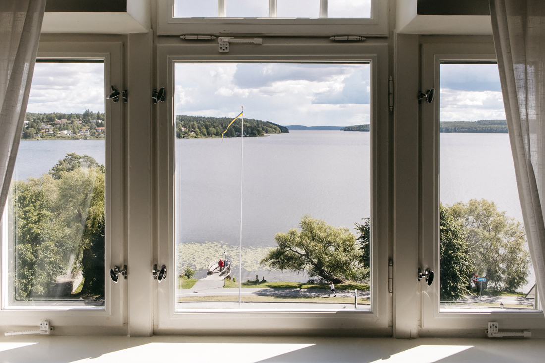 Sigtuna Stads Hotell, dettagli camere, vista sul lago