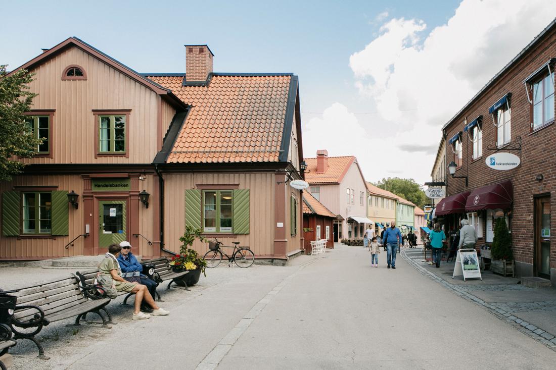 Sigtuna, via principale millenaria Storagatan