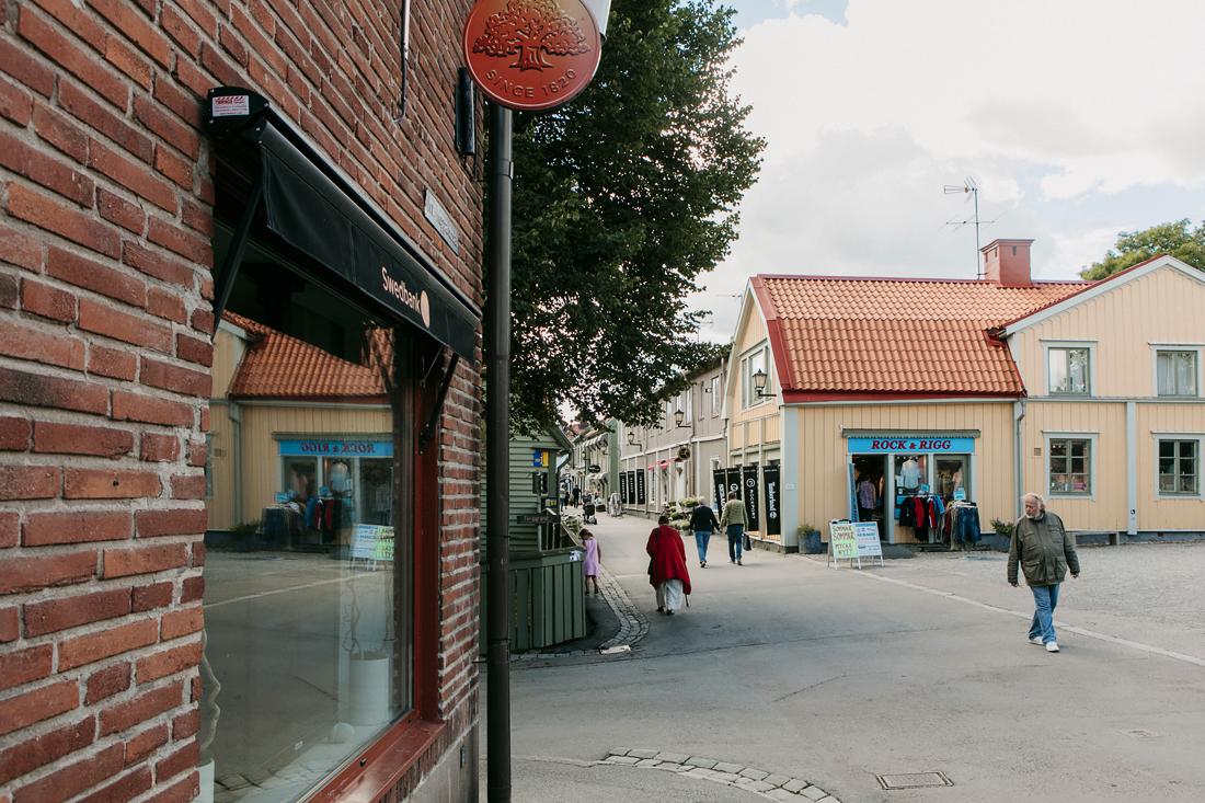 Sigtuna, via principale millenaria Storagatan, Road Trip - Sigtuna: centro urbano più antico della Svezia