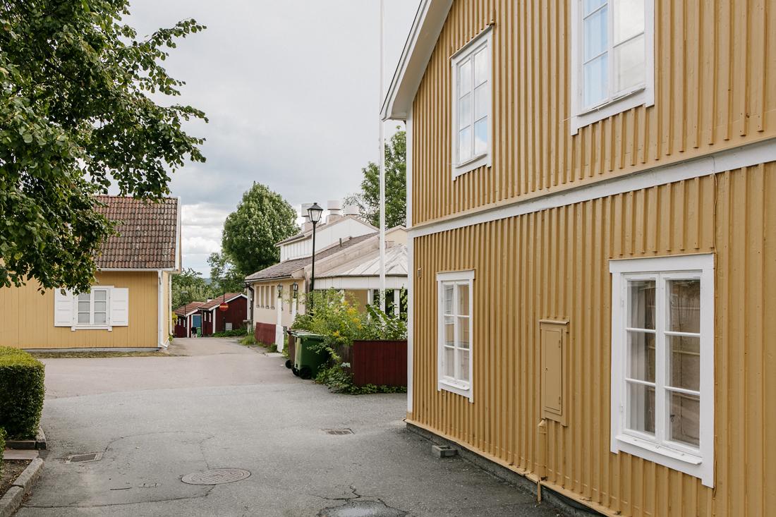 Sigtuna, quartieri residenziali