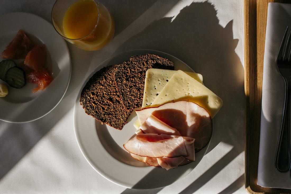 Sigtuna Stads Hotell, colazione