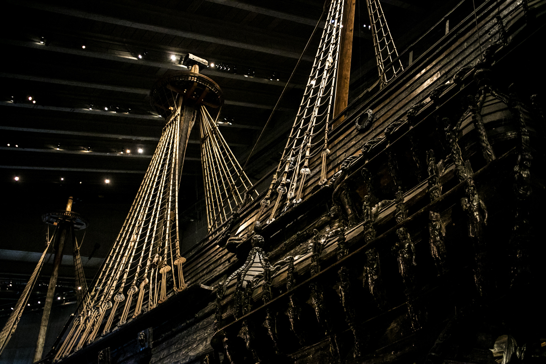 Museo Vasa, vascello
