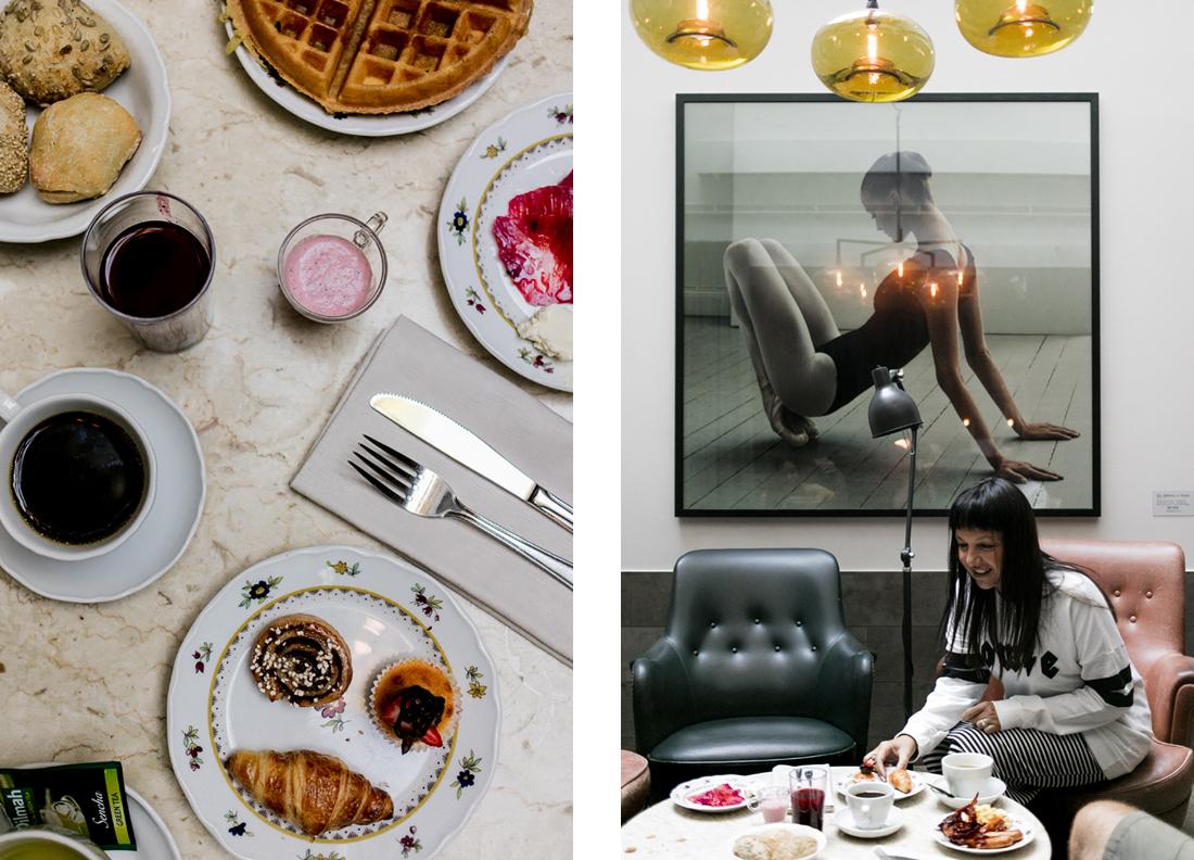 colazione a Miss Clara Hotel, Sandra Bacci