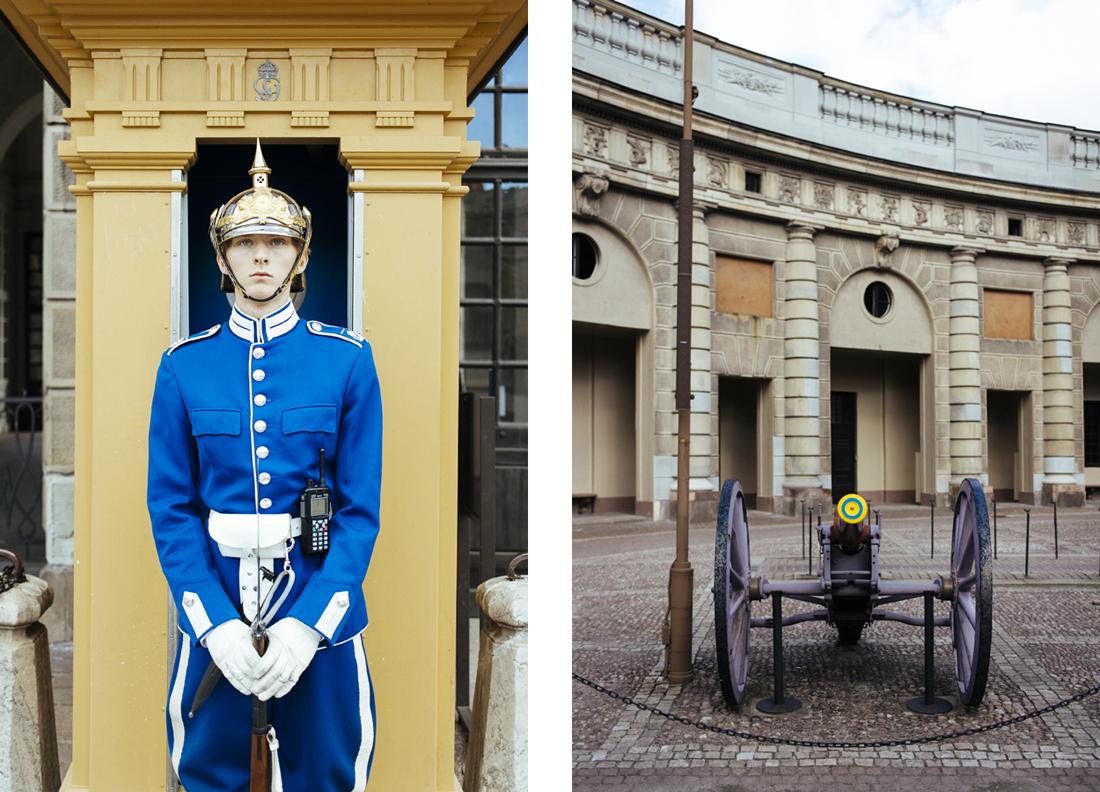 Palazzo reale, Stoccolma, Guardie reali