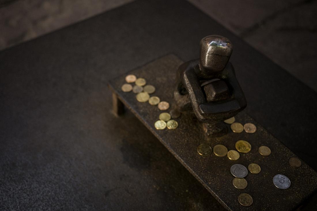 la più piccola statua di Stoccolma