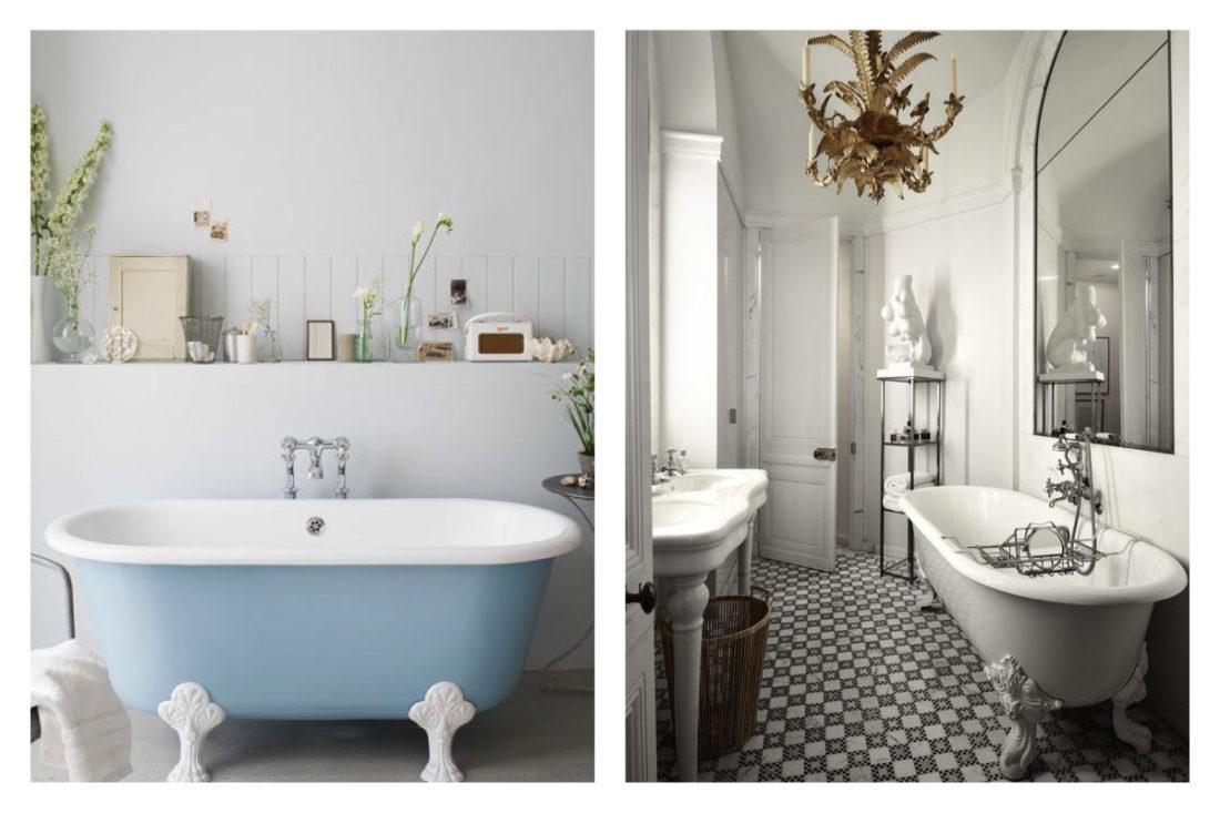 Leleganza senza tempo del bagno in stile barocco