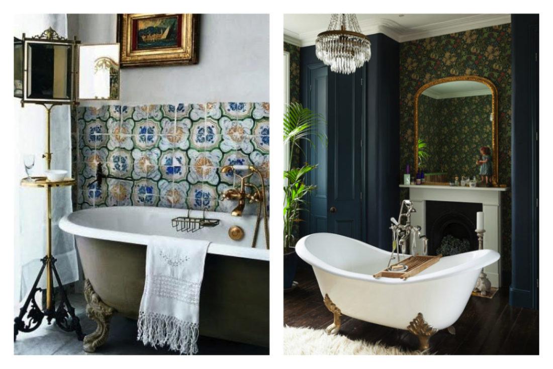 l\'eleganza senza tempo del bagno in stile barocco