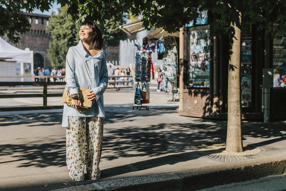 ultràchic, camicia oversize, Sandra Bacci