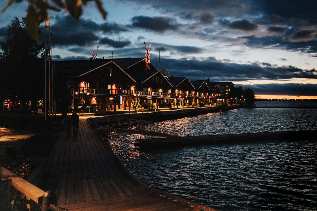baia illuminata, Cosa vedere a Luleå, la porta per la Lapponia Svedese.