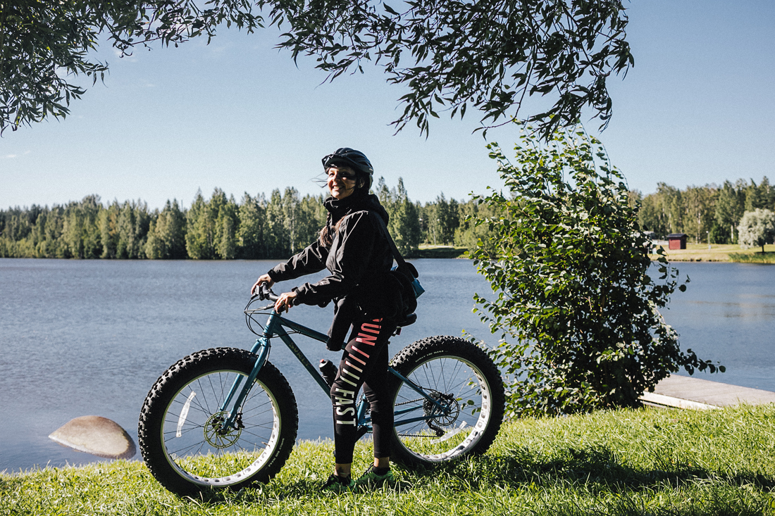 Ouroboros Luleå, fat bike