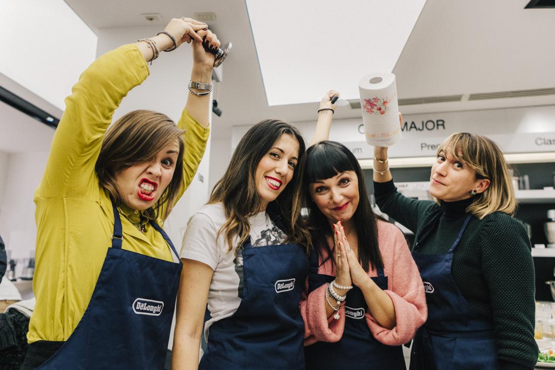 evento presentazione Multicooker De Longhi ,Sandra Bacci con i trentenni