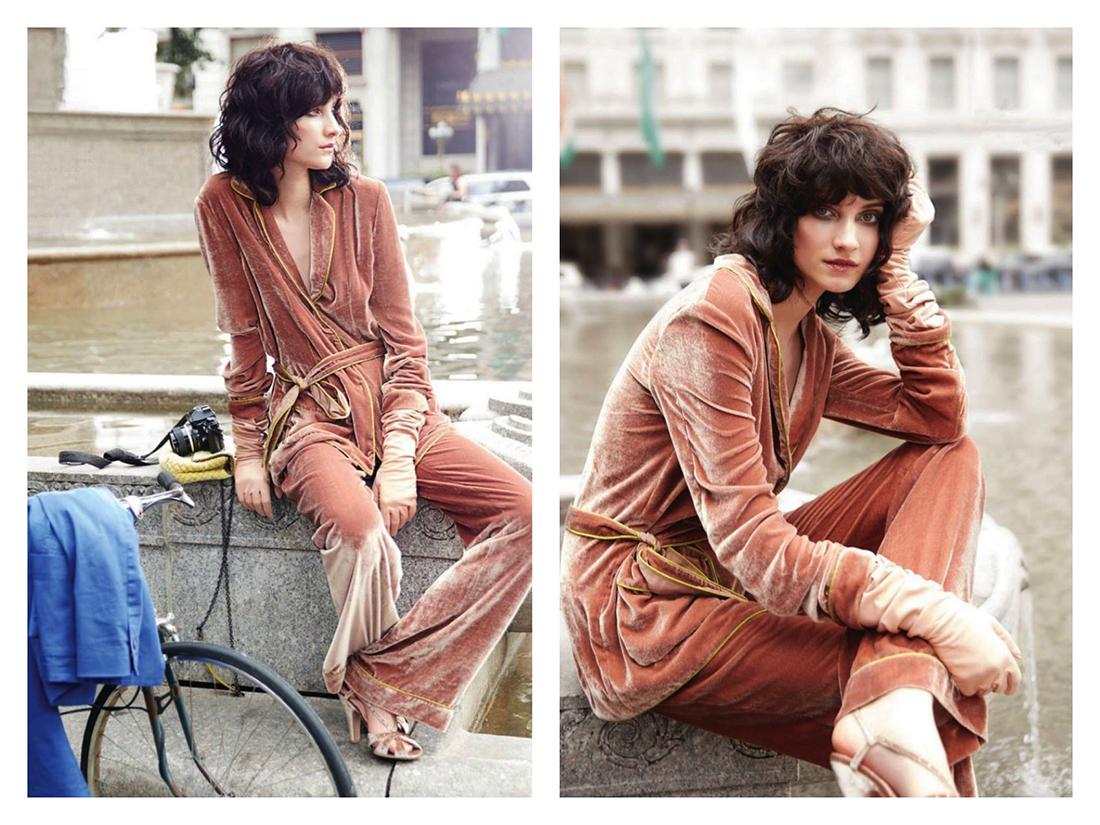 Tendenze: Come indossare il velluto, Alberta Ferretti
