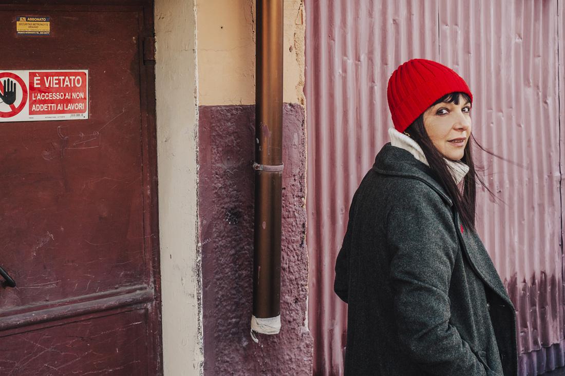 Sandra Bacci- cappotto grigio Pulll&bear