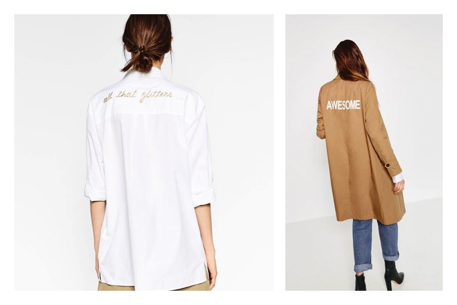 Tendenze primavera: cosa comprare a saldi da Zara-la camicia bianca