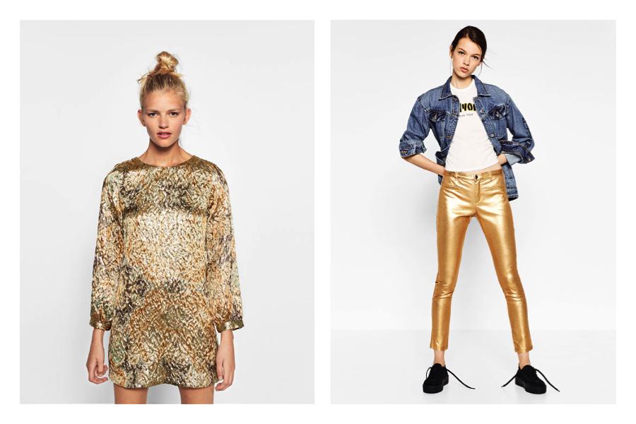 Tendenze primavera: cosa comprare a saldi da Zara-abiti scintillanti