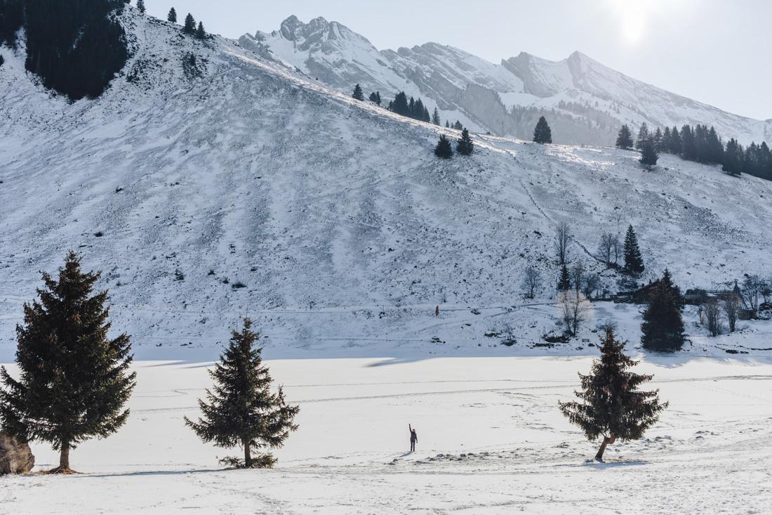 Sandra Bacci- lago ghiacciato