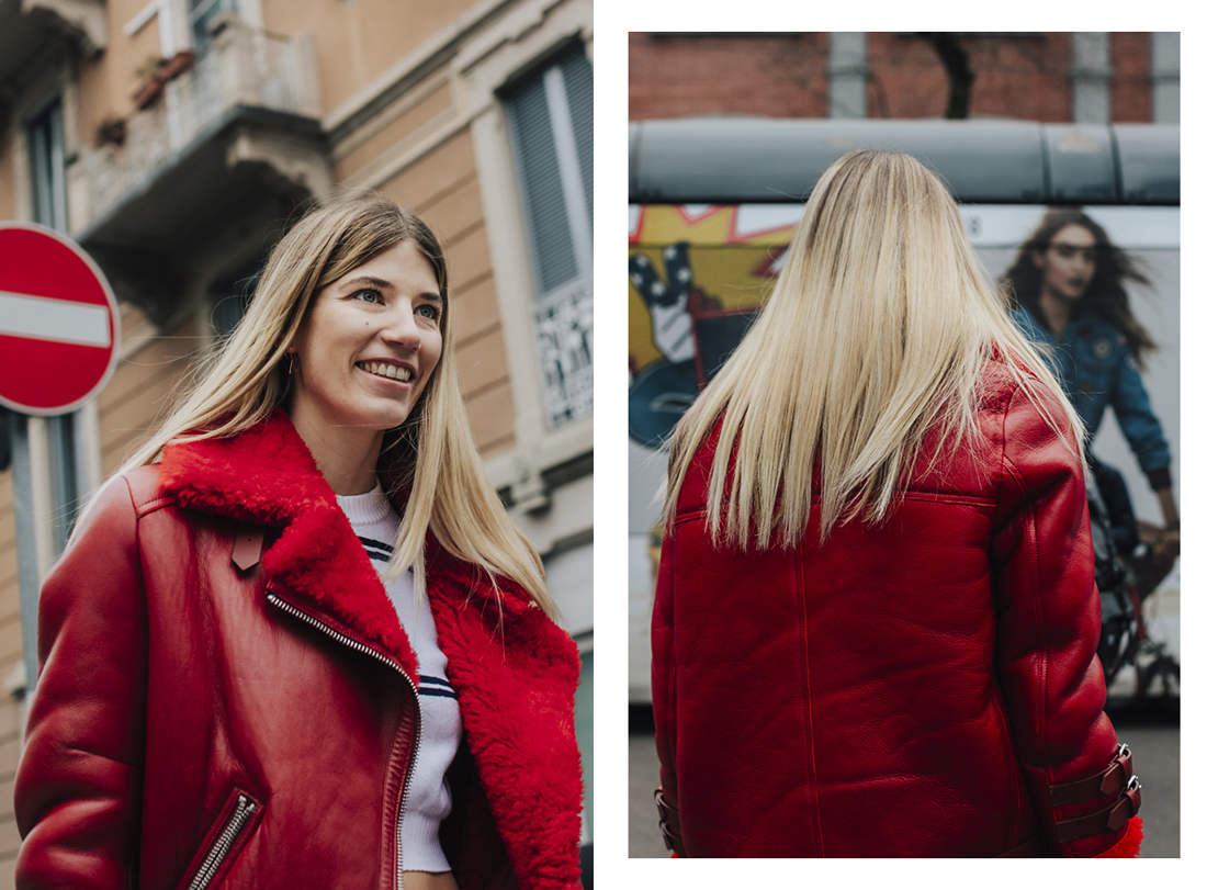 Street style - The best of MFW Fall Winter 2017/2018, Veronica Heilbrunner