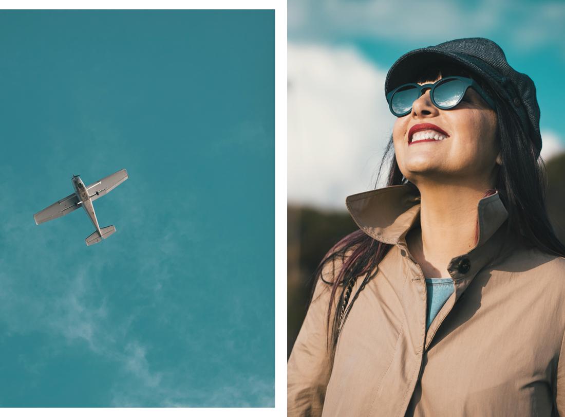 Occhiali D-Future- sguardo al cielo-Smilingischic