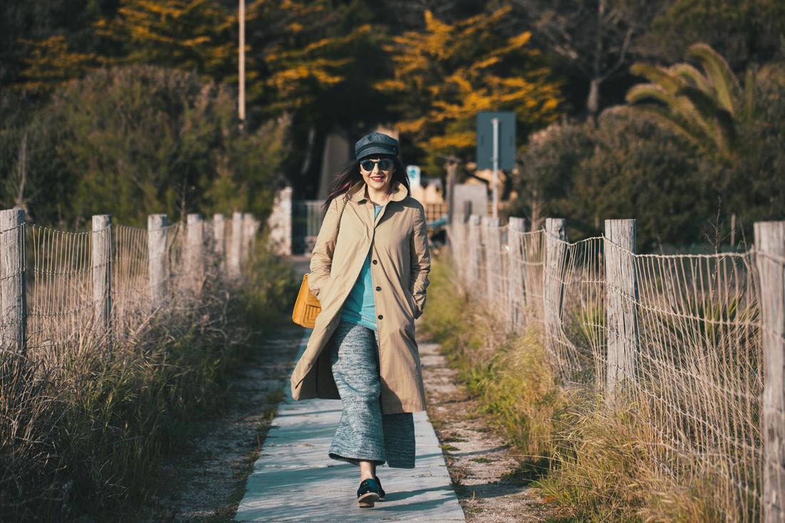 Edda Berg_ Pantaloni azzurri culottes-outfit