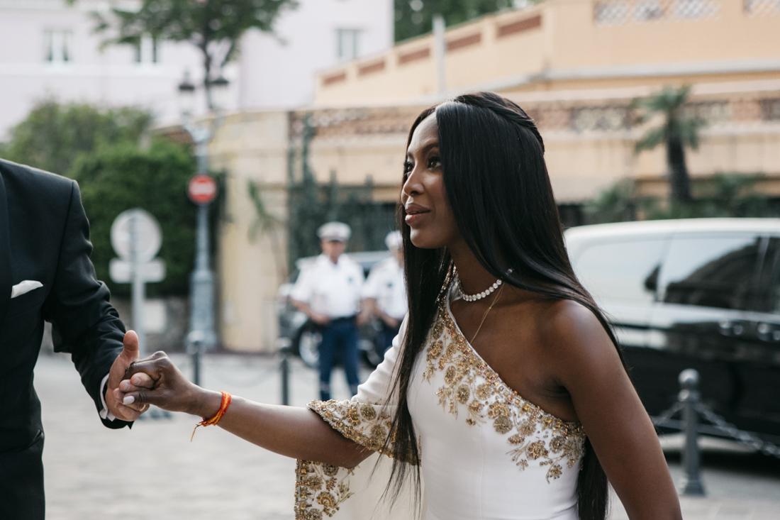 Naomi Campbell a Montecarlo