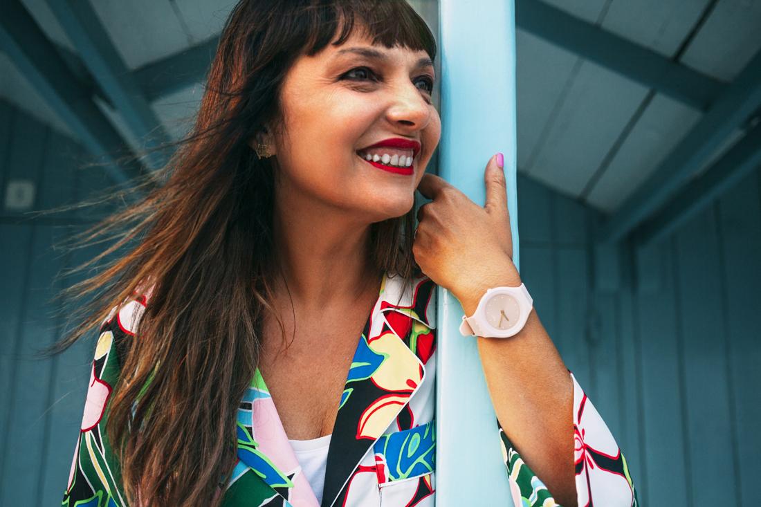 Swatch Skin Nude,Sandra Bacci, ritratto sorridente