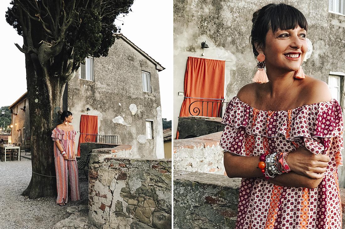 Sandra Bacci, outfit miawish