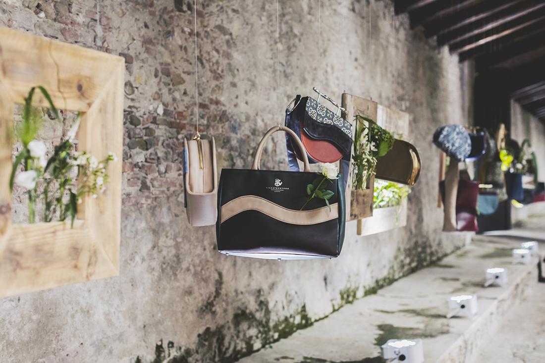 Villatrentuno, dettagli borse, creazioni Emy Petrini
