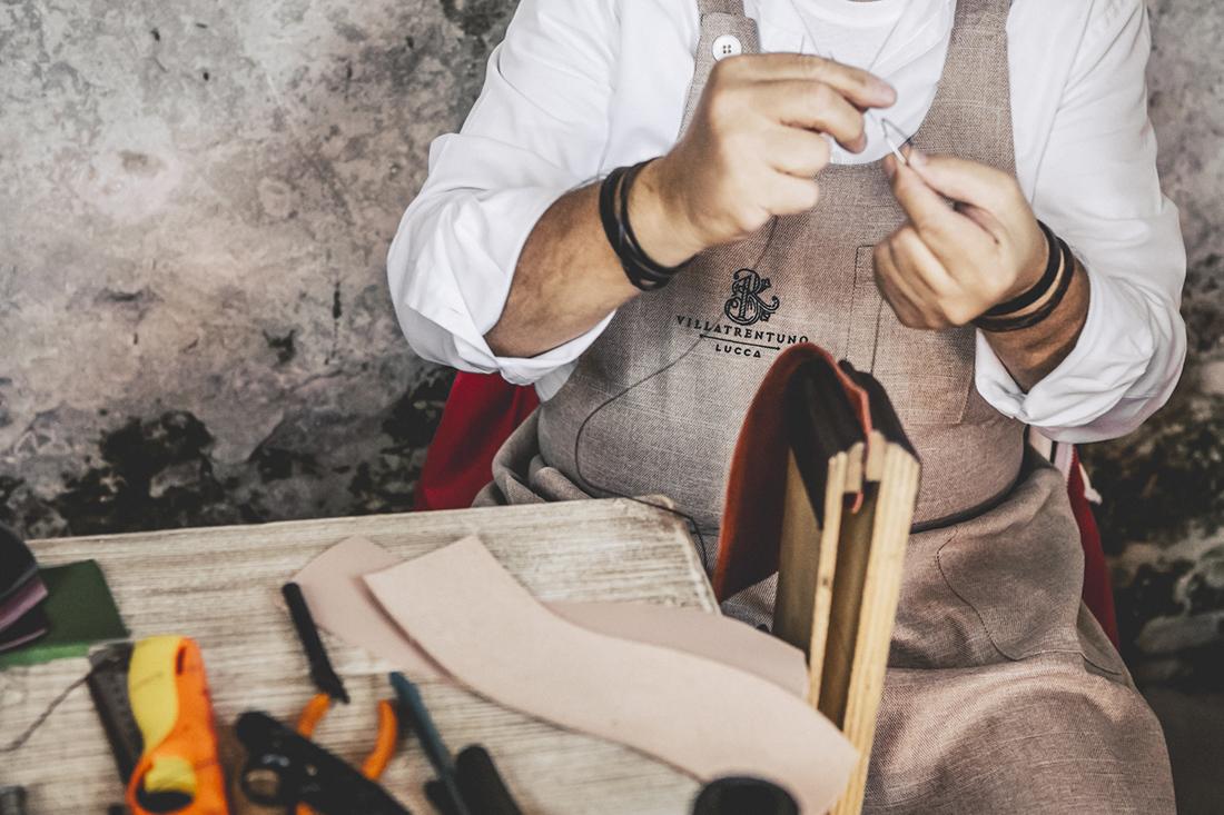 Villatrentuno, artigiani al lavoro