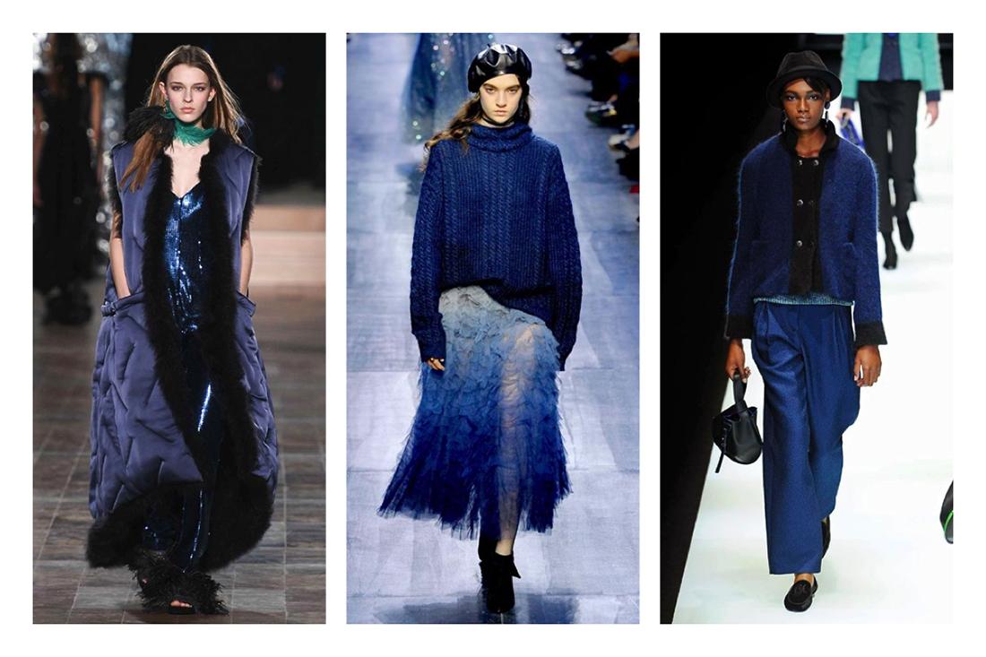 cosa indosseremo questo autunno inverno 2016 2017 . tendenza blu