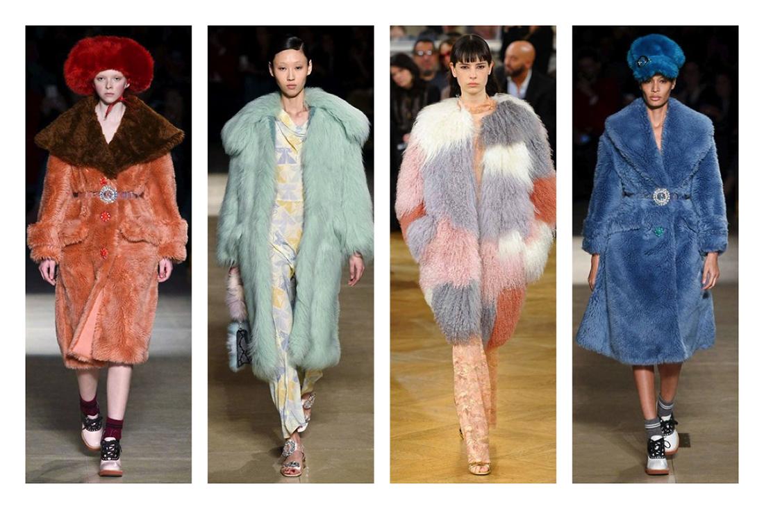 cosa indosseremo questo autunno inverno 2016 2017 , pellicce finte