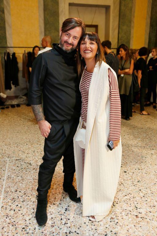Daniele Calcaterra e Sandra Bacci