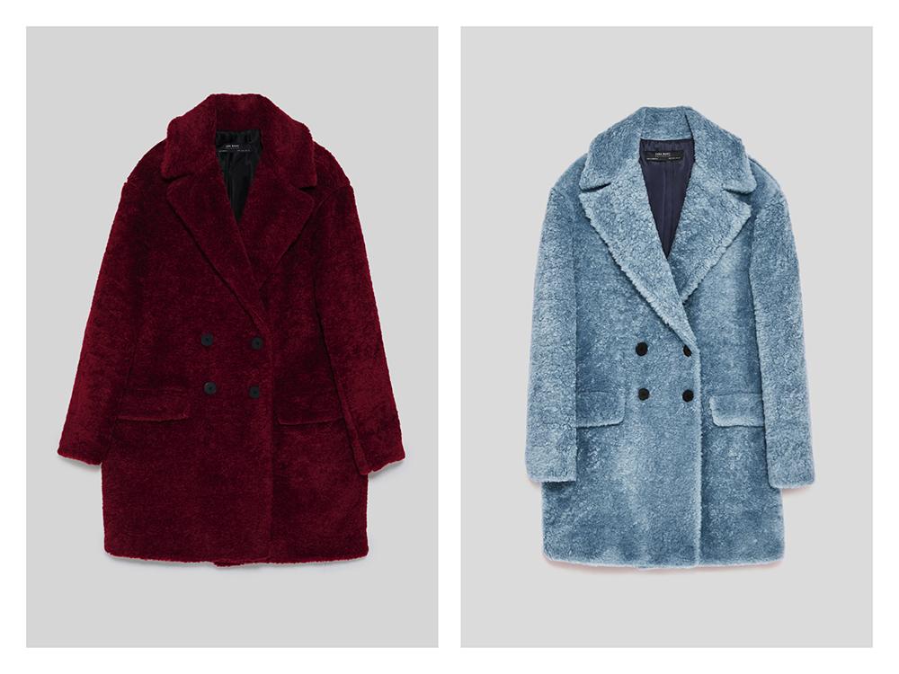Tendenze cappotti autunno inverno 2017/2018, Zara