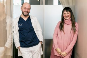 Dott. Carlo Borriello, studio medico, Sandra Bacci, post trattamento radiofrequenza
