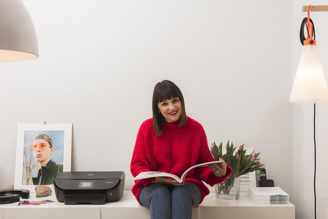 Sandra Bacci, stampanti intelligenti,, hp instant ink