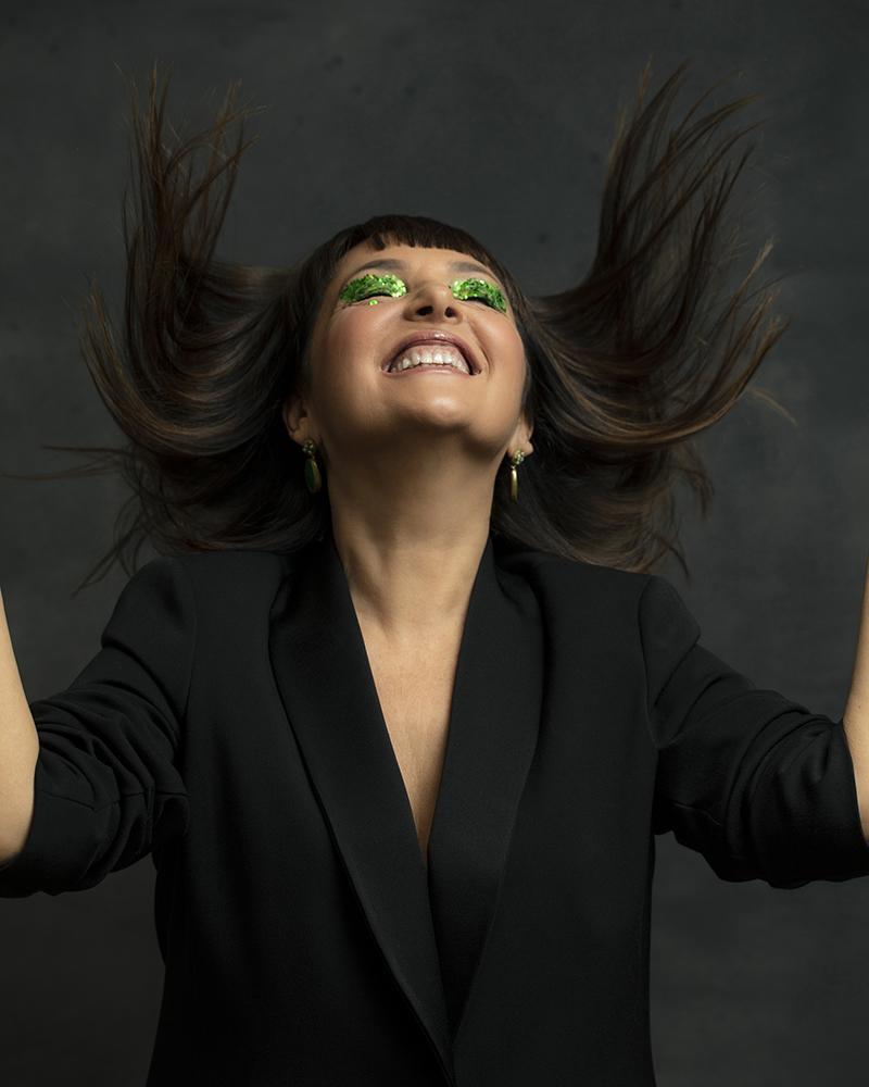 Sandra Bacci , makeup over 50, joy