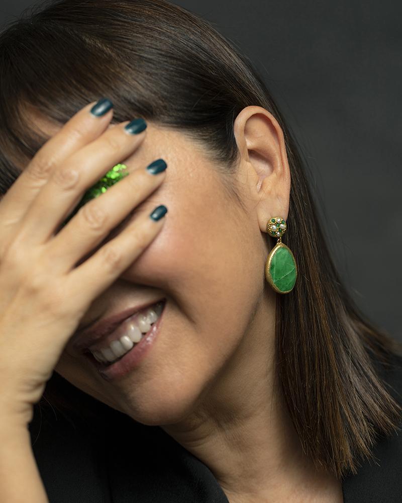 dettaglio orecchini robinia gioielli