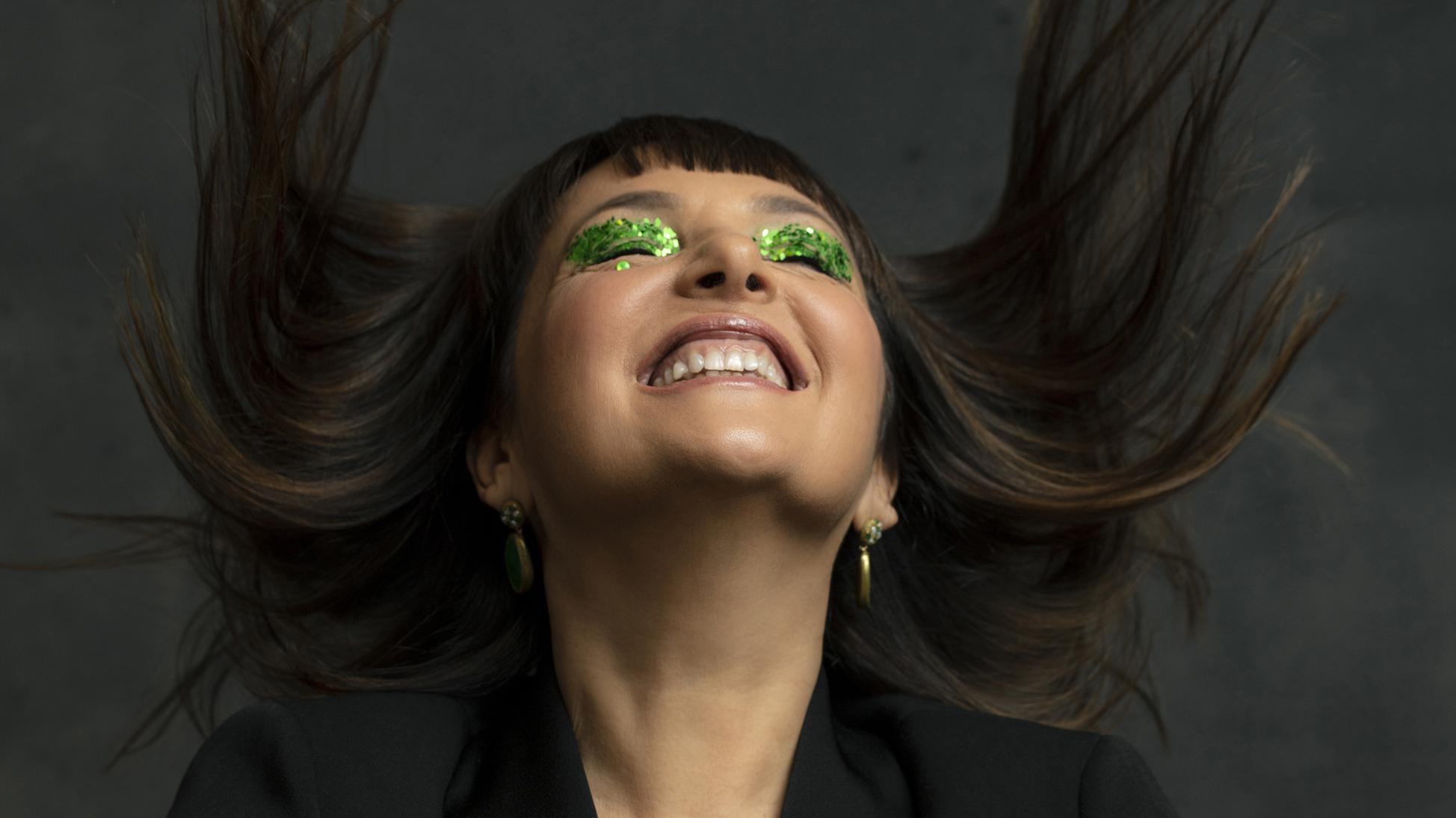Sandra Bacci , makeup over 50
