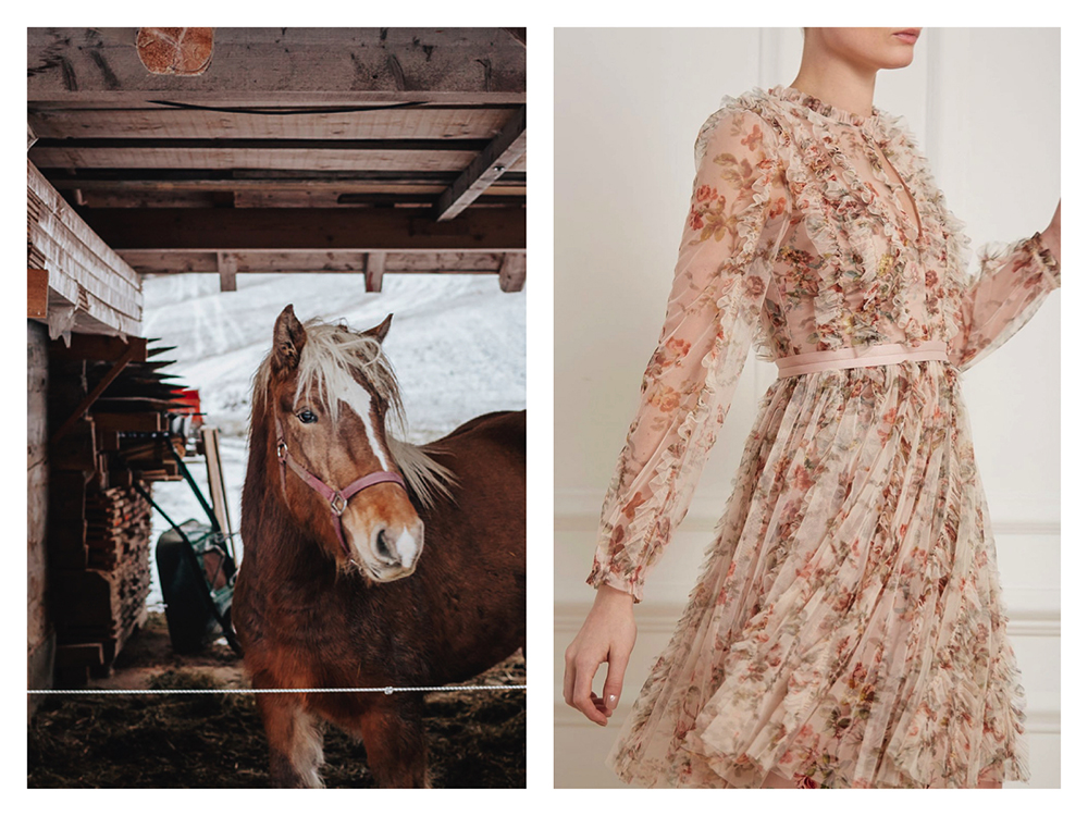 prairie dress, Needle and Thread - €385