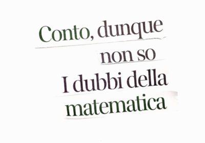 I dubbi di una matematica