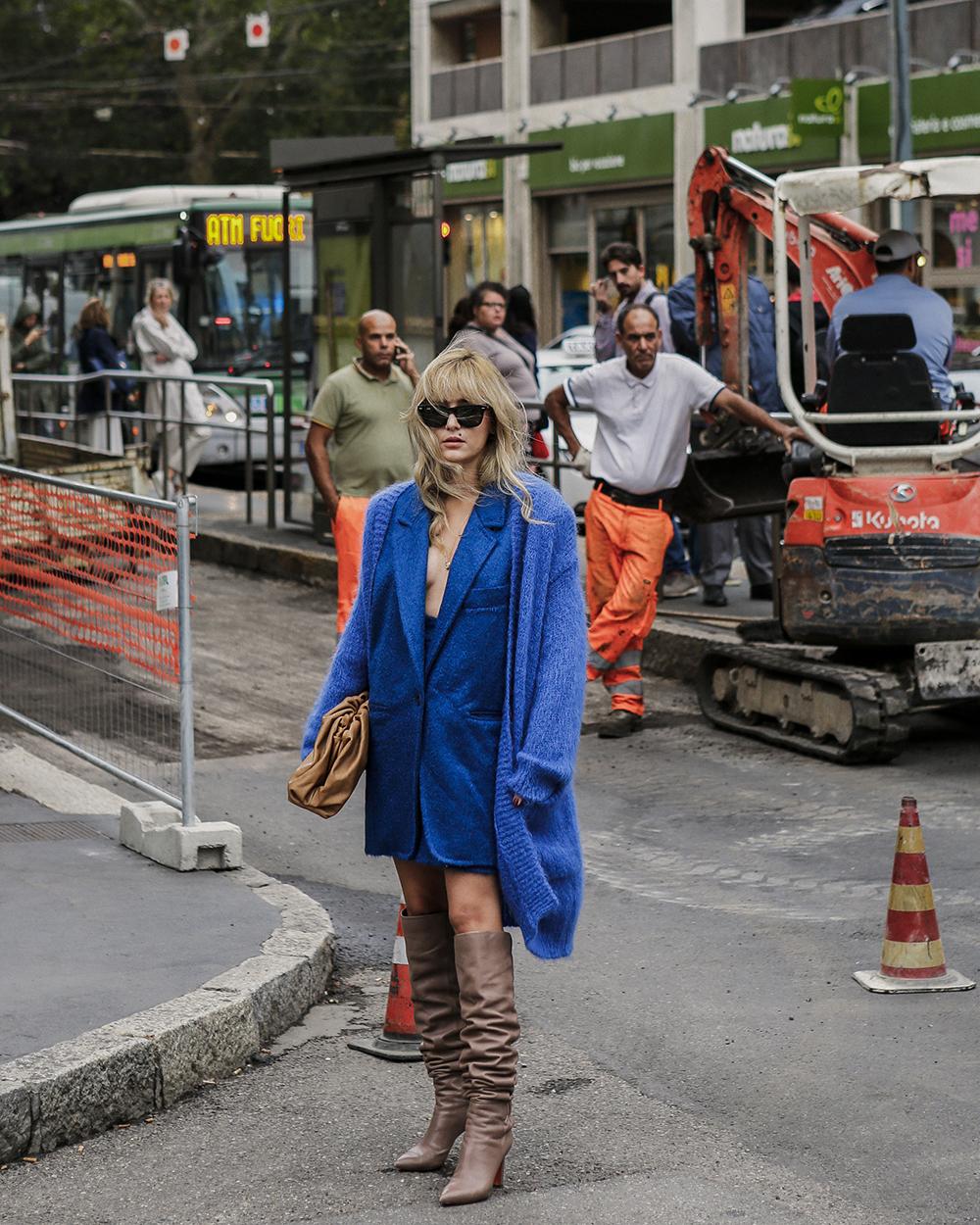 Eleonora Carrisi,Stile monocromatico, Foto di Giorgio Leone
