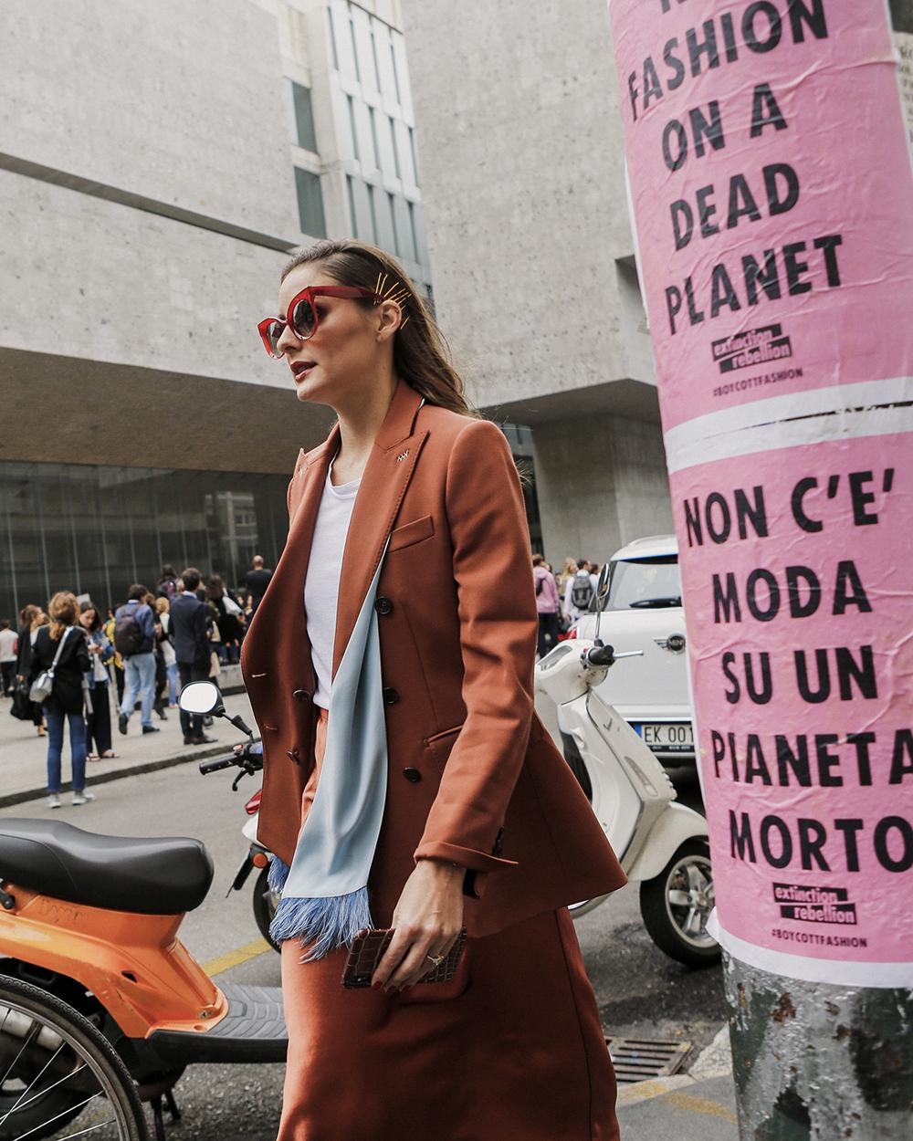 Olivia Palermo, foto di Giorgio Leone,